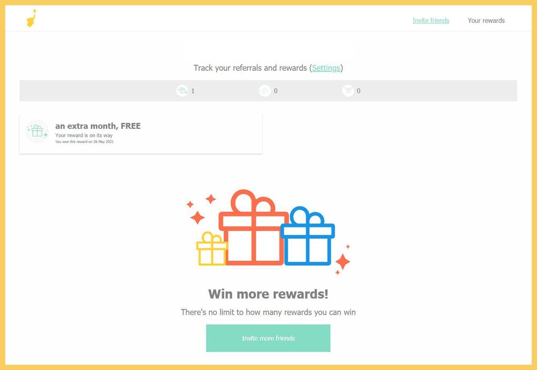 Track rewards 1 | WebBabyShower