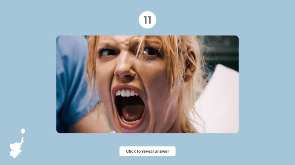 labor or horror game slide | WebBabyShower