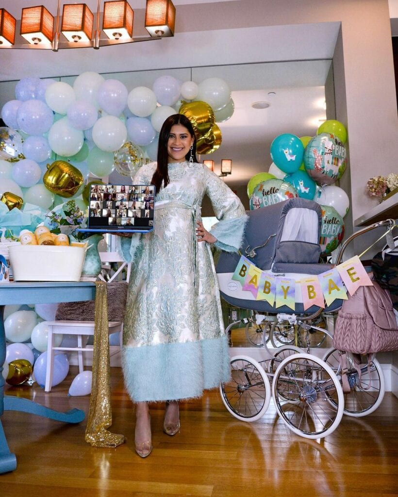 types of baby shower virtual