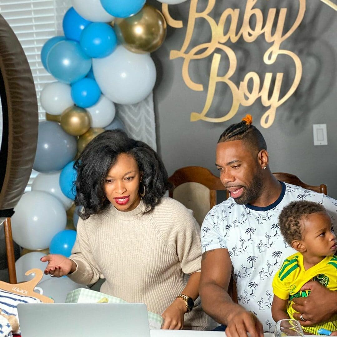 types of baby shower long distance
