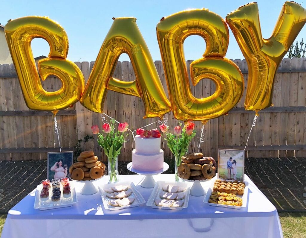 throw your own baby shower on a budget