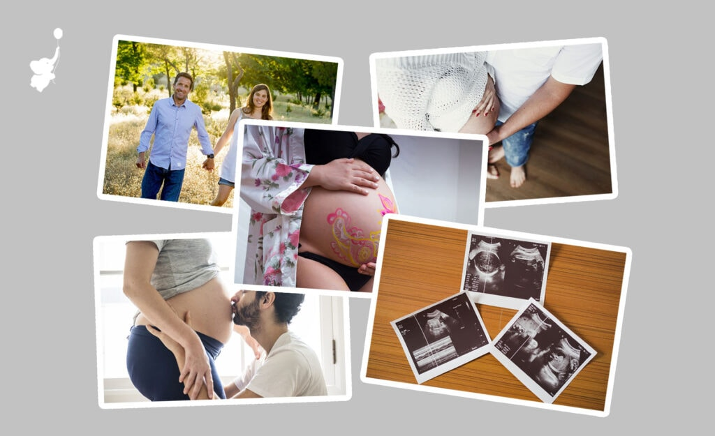 photos for baby shower slideshow