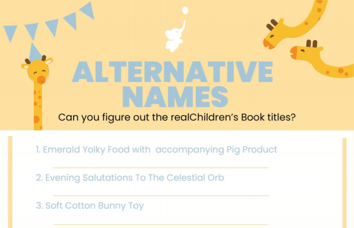 alternative names baby shower game printable