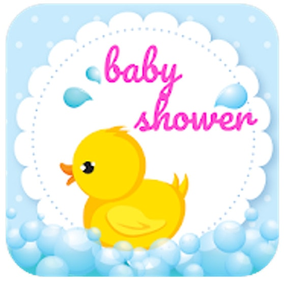 baby shower invitation app logo