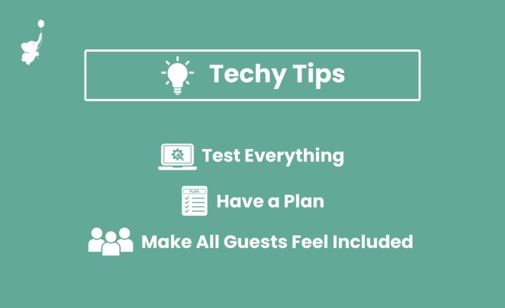techy tips for hybrid baby shower 1 | WebBabyShower