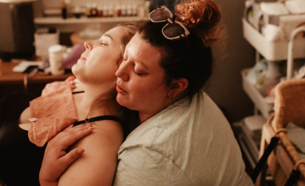 webbabyshower questions to ask doula collin parsons