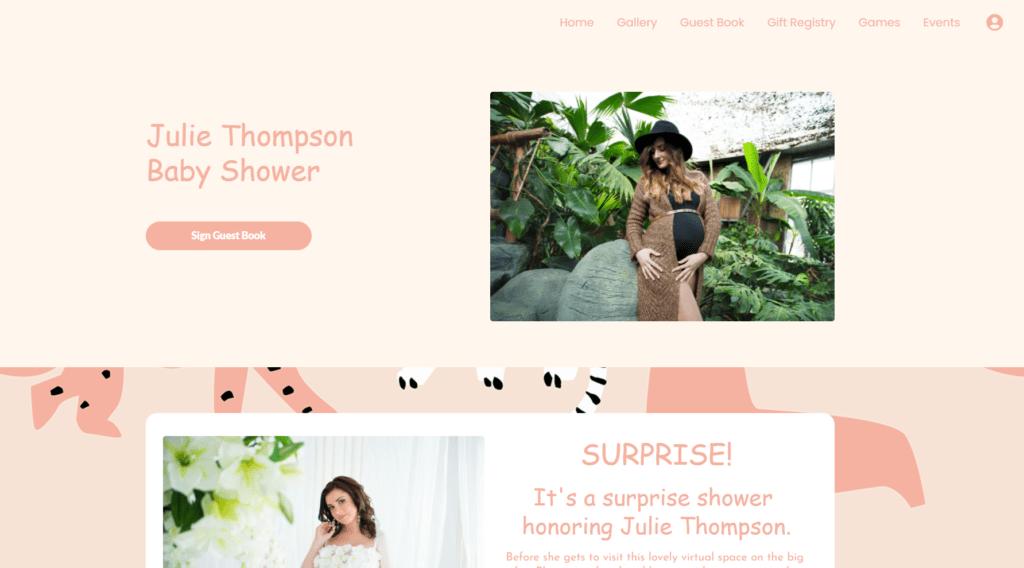 webbabyshower shower page